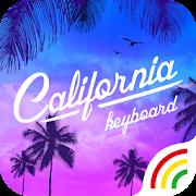 Sunset Summer Keyboard Theme