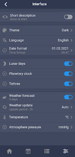 Moon Assistant - Lunar calendar & weather forecast