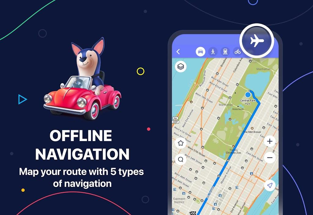 MAPS.ME – Offline maps, travel guides & navigation  poster 0
