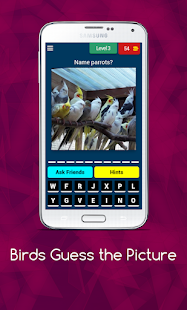 Birds Guess the Picture 8.12.3z screenshots 1