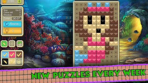 picture cross simple mosaics screenshot 3
