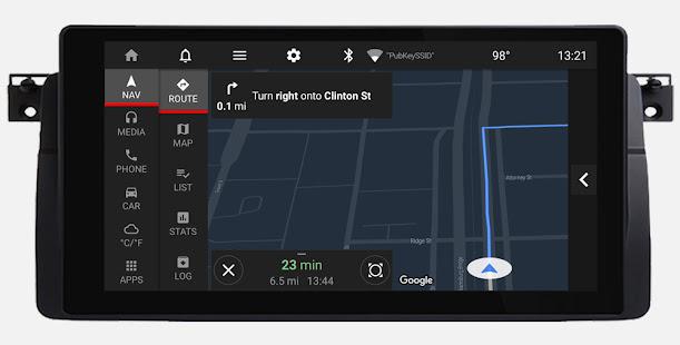 Car Penguin: Head Unit Launcher & Navigation 1.8 Screenshots 3