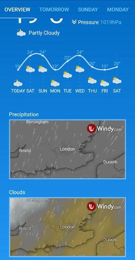Weather Forecast (free & no ads) 1.33 Screenshots 9