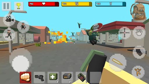 Zombie Craft Survival 3D: Free Shooting Game apkpoly screenshots 4