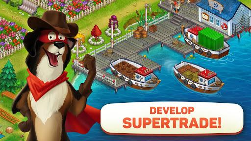 Superfarmers: happy farm & heroes city building ud83cudf3b android2mod screenshots 18