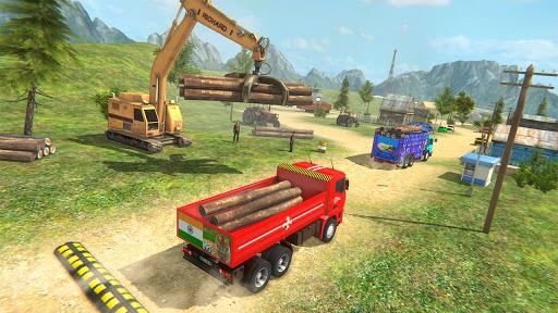 Indian Cargo Truck Driver Simulator Game -Forklift 1.20 screenshots 5