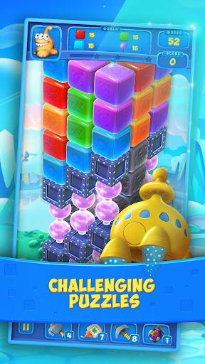 Cube Blast: Match - 3D blast puzzle fun with toons 1.2.3 screenshots 2