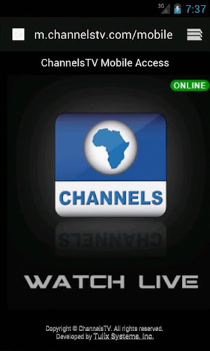 ChannelsTV Mobile for Androids 3.0.1 Screenshots 5
