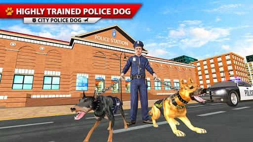 City Police Dog Simulator, 3D Police Dog Game 2020 apkpoly screenshots 5