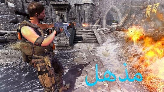 Real Terrorist Shooting Games: Gun Shoot War 6
