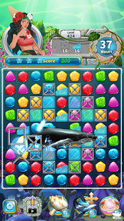 Jewel Aloha- Ocean Match 3 Puzzle for pc