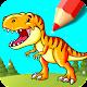 Glitter Dinosaur Coloring & Drawing Book per PC Windows