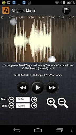 Ringtone Maker - MP3 Cutter  screenshots 2