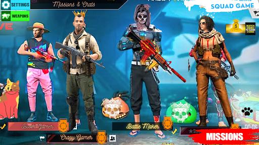 Squad Survival freefire Game Battleground Shooter  screenshots 1