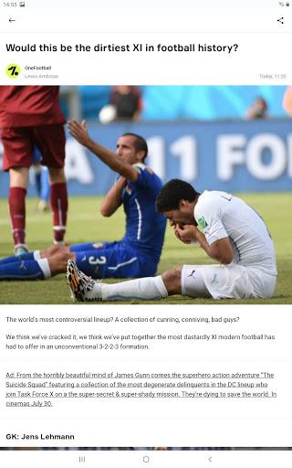 OneFootball - Soccer News, Scores & Stats  screenshots 19