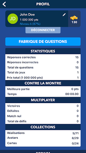 Super Quiz - Culture Gu00e9nu00e9rale Franu00e7ais android2mod screenshots 8