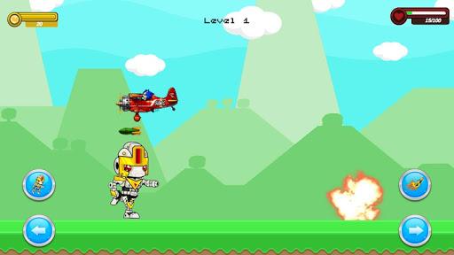 Shooter Robot : Plane , Tank Shooting  screenshots 2