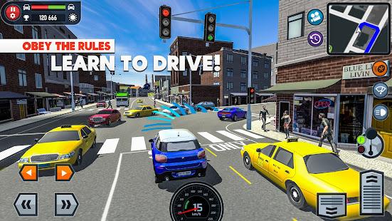 🚓🚦Car Driving School Simulator 🚕🚸 3.2.7 screenshots 2