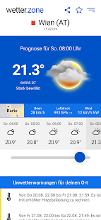 wetter.zone Screenshot