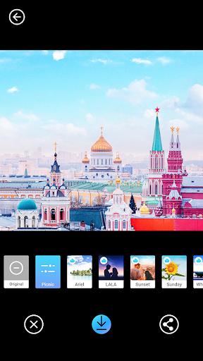 PICNIC - photo filter for dark sky, travel apps 3.1.1.2 Screenshots 5