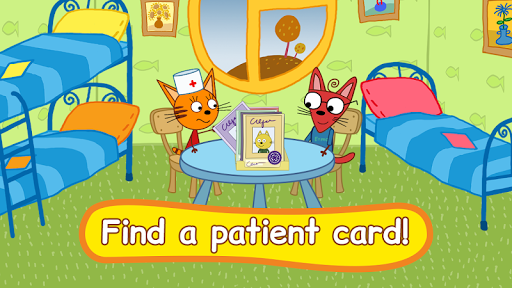 Kid-E-Cats: Hospital for animals. Injections android2mod screenshots 1