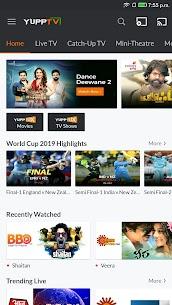 YuppTV – LiveTV, Movies, Music, IPL Live, Cricket 1