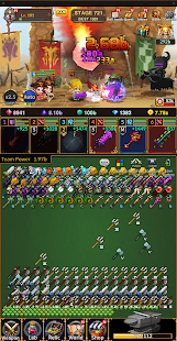 Weapon Heroes : Infinity Forge(Idle RPG) Screenshot