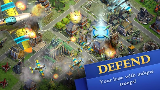 DomiNations Mod Apk (Unlimited Gold/Food/Oil) 3