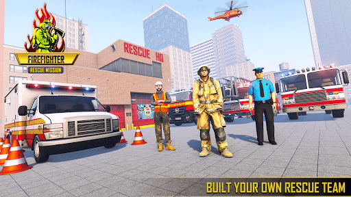 Firefighter Games : fire truck games  screenshots 8