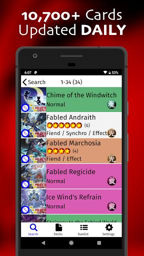yugipedia: yugioh deck builder screenshot 2