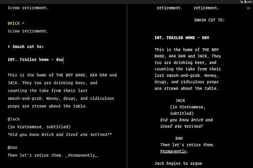 JotterPad - Writer, Screenplay, Novel 12.11.0D-pi Screenshots 14