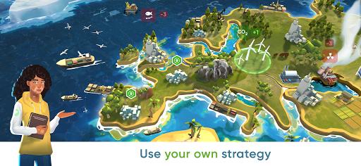 Save the Earth - Eu0421O Strategy  screenshots 3
