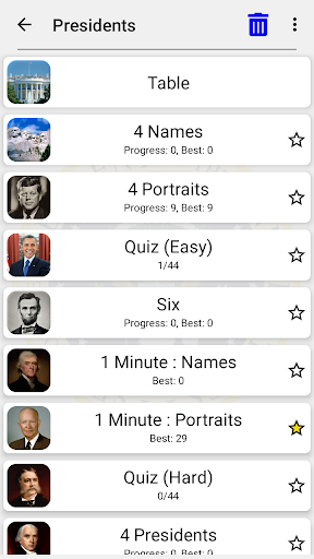 US Presidents and Vice-Presidents - History Quiz screenshots 8
