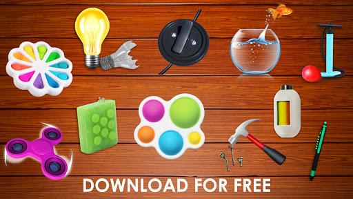 Fidget Toys 3D - Fidget Cube, AntiStress & Calm android2mod screenshots 8