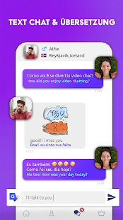 Bermuda Video Chat - Lerne neue Leute kennen Screenshot