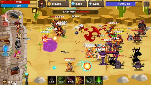 Final Castle Defence : Idle RPG apkslow screenshots 2