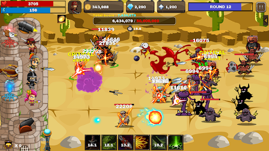 Final Castle Defence : Idle RPG 2