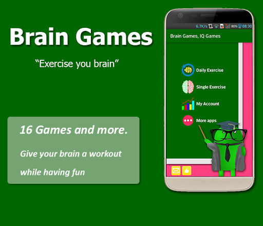 Brain Exercise Games - IQ test 1.3.5 Screenshots 2