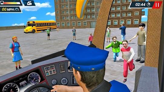 Offroad High School Bus Simulator Free 8