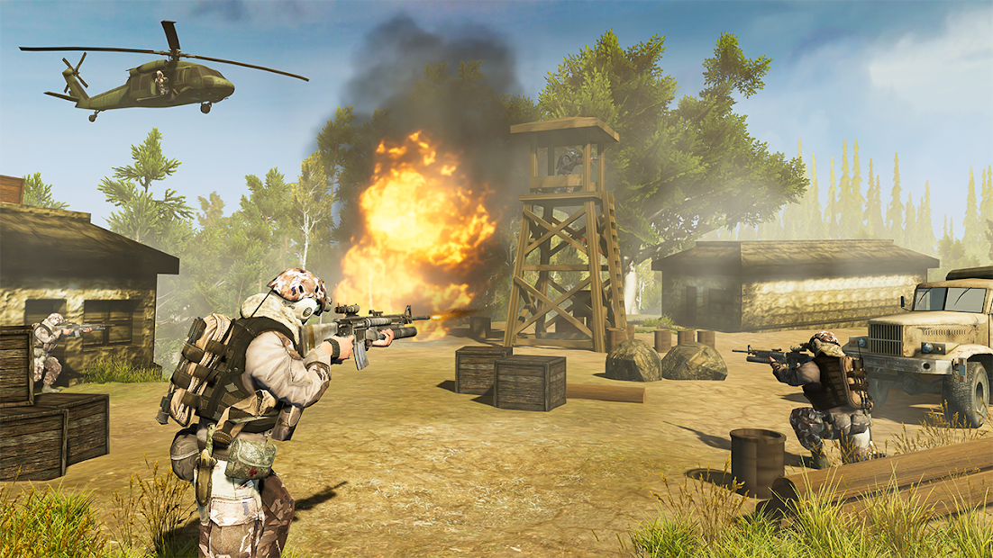 War Commando 3D - New Action Games 2021 screenshot 11
