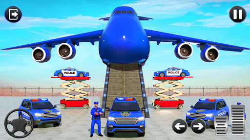 Grand Police Cargo Transport Truck:Car Parking Sim 1.0.2 screenshots 3
