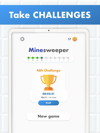 Minesweeper Puzzle Game - Free For Android 4.0 screenshots 11