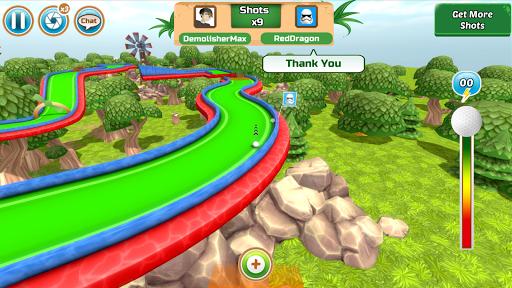 Mini Golf Rivals - Cartoon Forest Golf Stars Clash  screenshots 8