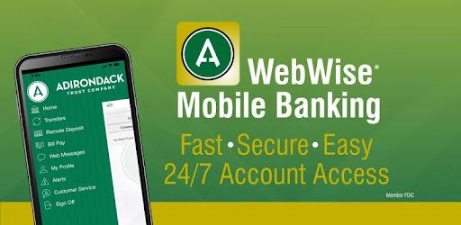 adirondack trust webwise login