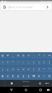 South American Native Keyboard