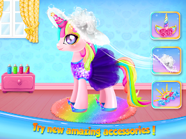 Princess Pony Beauty Makeover: Unicorn Salon