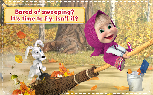 Masha and the Bear: House Cleaning Games for Girls 2.0.0 screenshots 16