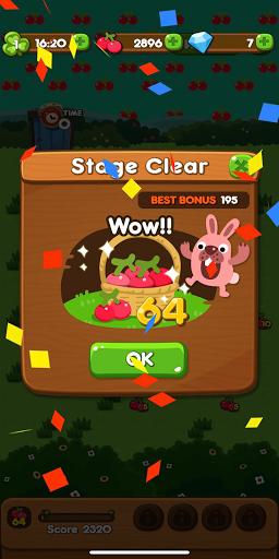 LINE PokoPoko - Play with POKOTA! Free puzzler!  screenshots 7