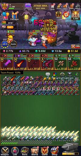 Weapon Heroes : Infinity Forge(Idle RPG)  screenshots 15