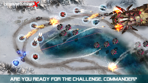 Defense Legend X: Sci-Fi Tower defense 1.0.22 screenshots 6